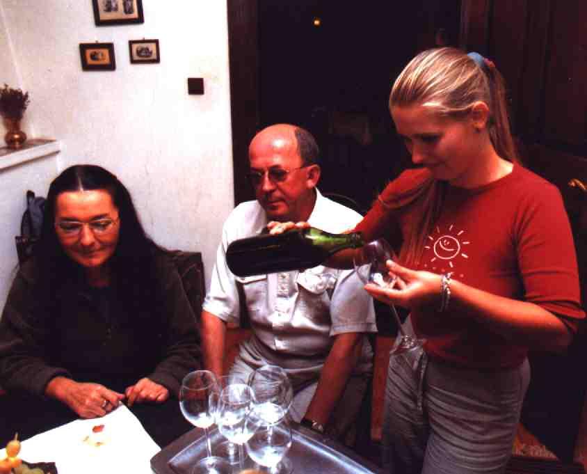 szkółka winorośli